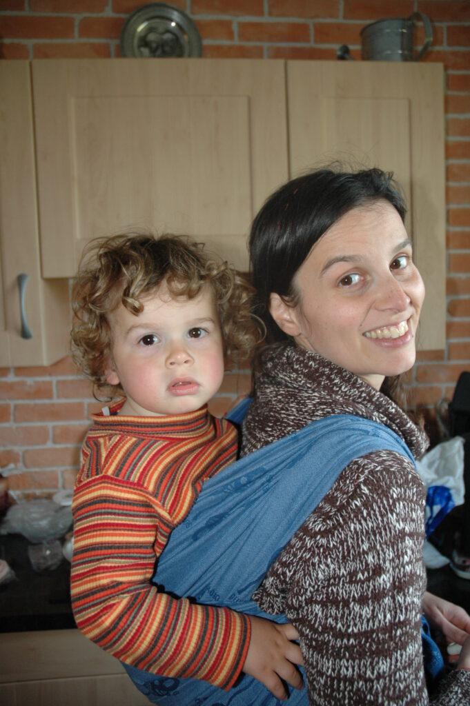 Isabelle BOIVIN 2009 Portage de grand bébé