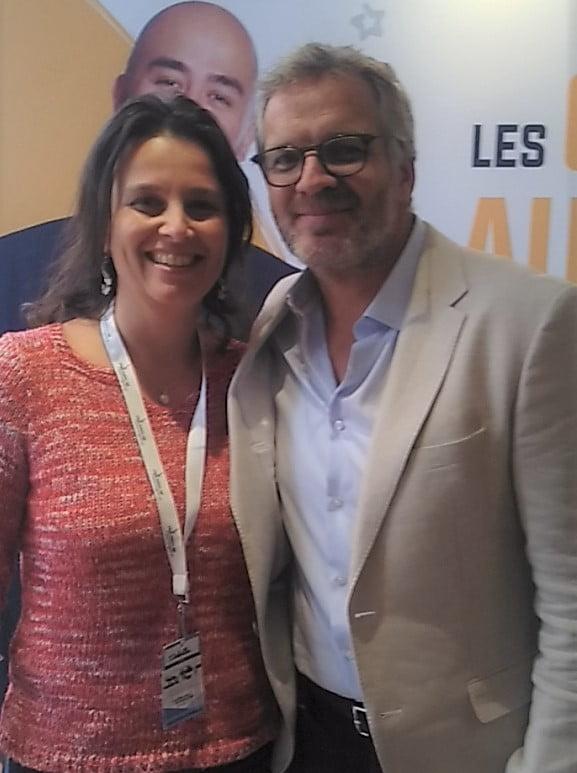 David LEFRANÇOIS et moi