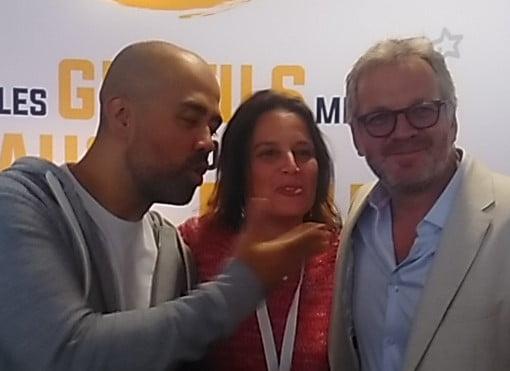 Les 2 inséparables : Yannick ALAIN et David LEFRANÇOIS avec moi